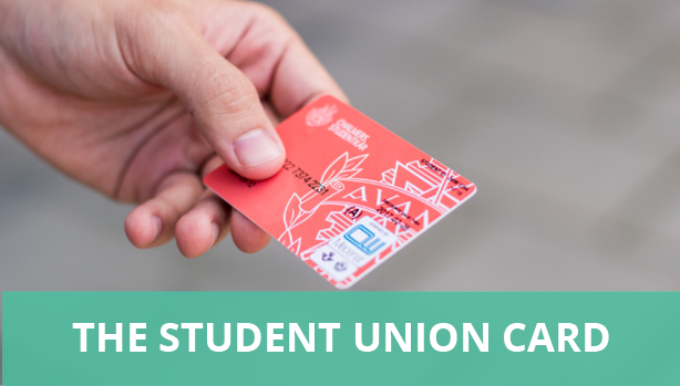 The Student Union card
