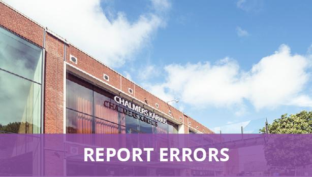 Report errors