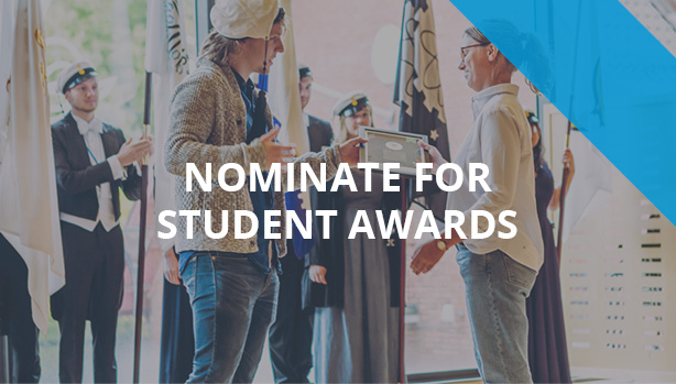 Nominate for student awards